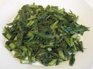 Wild fennel and spring saltmarsh salad